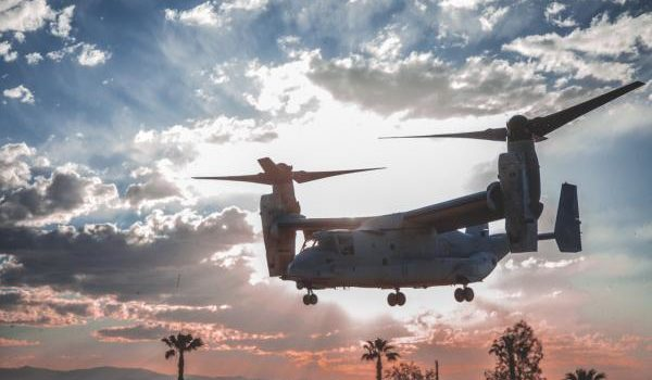 Marine Corps Ospreys land safely in Hawaii after island-hopping the Pacific Ocean
