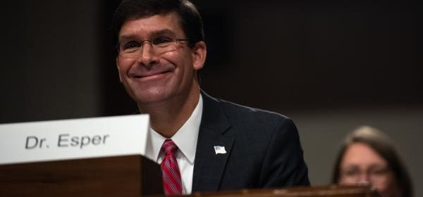 Senate confirms Mark Esper as new Defense Secretary, first permanent replacement since December