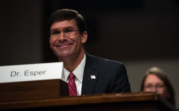 Secretary Defense nominee Mark Esper clears Senate committee