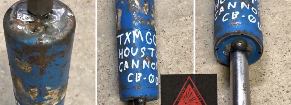 """Company in Texas making Syrian """"Hell Cannons,"""" """"Claymore Roombas""""- and it's all legal"""