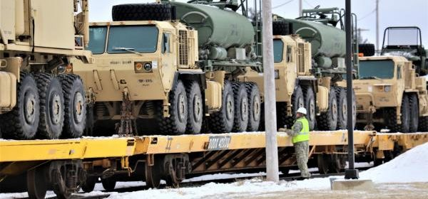 US National Guardsmen improving bases in Poland and Romania