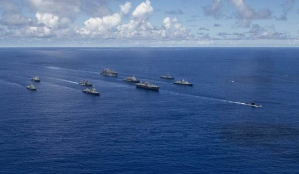 Four nations partner with Navy in first of it's kind Pacific Vanguard exercise