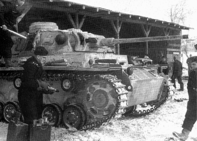 A German Tank Battalion Fought to the End in the Icy Hell of