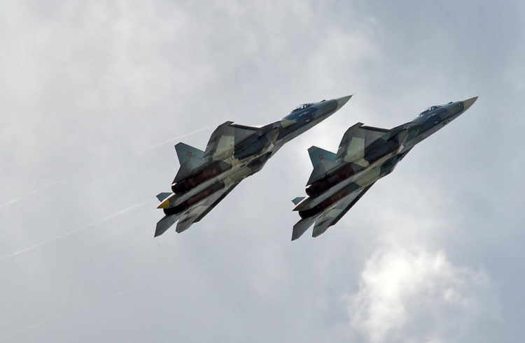 No, the Russian Su-57 Stealth Fighter Isn't Superior to the American F-22