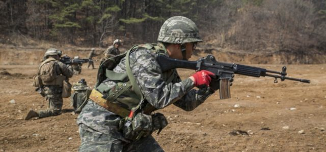 U.S.-South Korea joint military exercises begin as North Korea continues missile testing