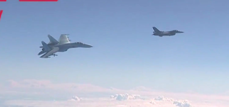 A NATO F-16 Tailed the Russian Defense Minister Over the Baltic