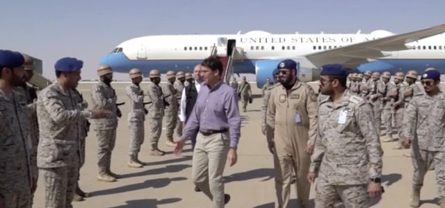 Deployment of 3,000 US troops to Saudi Arabia almost complete