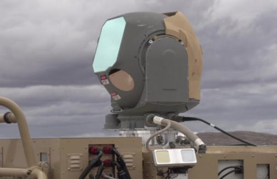 Air Force tests out land-based laser defense system that shoots down aircraft