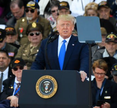 "President Trump highlights 75th anniversary of D-Day, declares WWII vets ""greatest Americans who will ever live"""