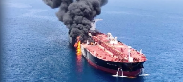 Two tankers attacked in Gulf of Oman, U.S. sending destroyer to assist