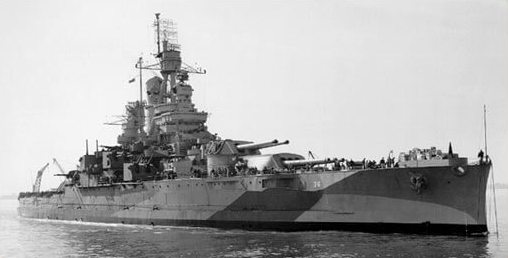 The battleship that wouldn't sink: How the USS Nevada became a symbol of the American fighter during WWII