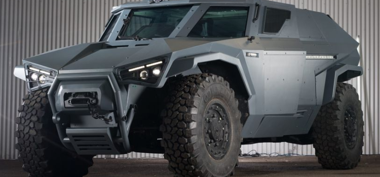 Volvo making an electric powered attack truck for France
