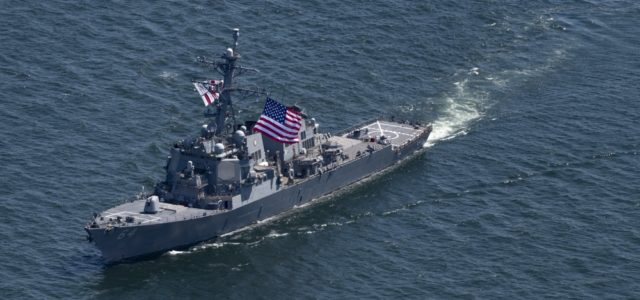 U.S. participates in 'Sea Breeze' naval exercise in Russia's backyard