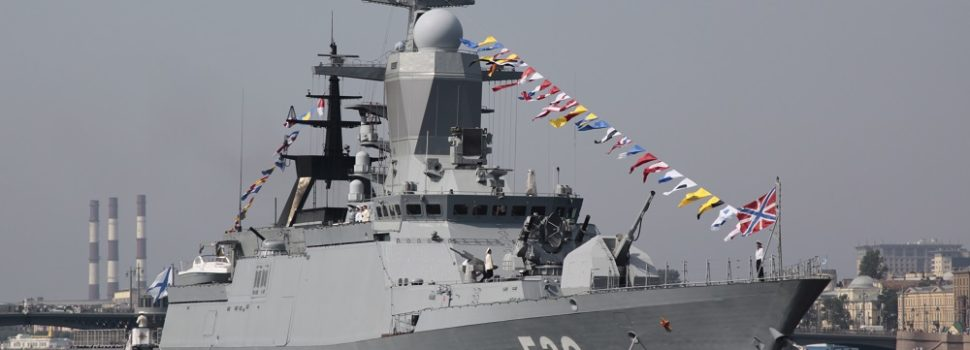 Joint Russian-Chinese Naval War Games Grow More Sophisticated