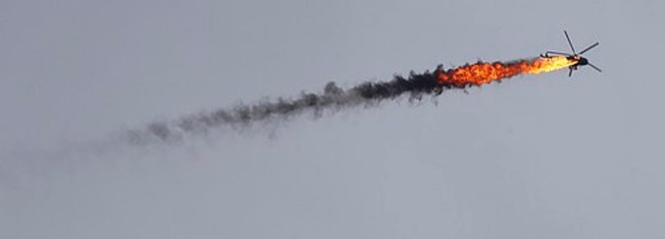 Video: Syrian helicopter shot down by Turkish-backed rebels
