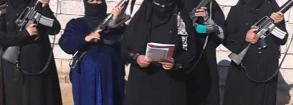 ISIS Is Deploying More Women Suicide Bombers