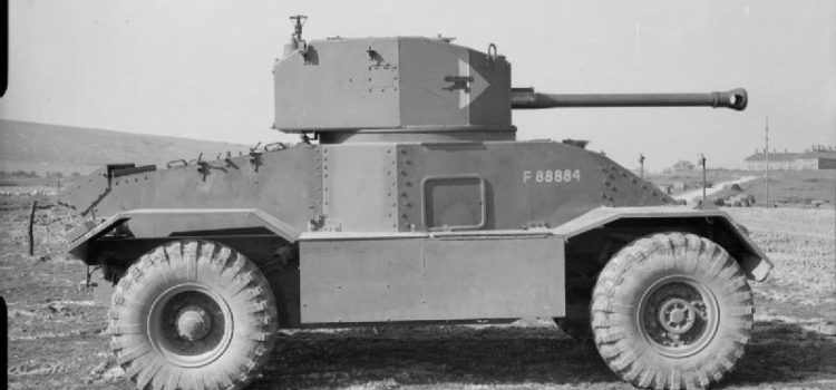 The AEC Armored Car Pretended to Be a Tank