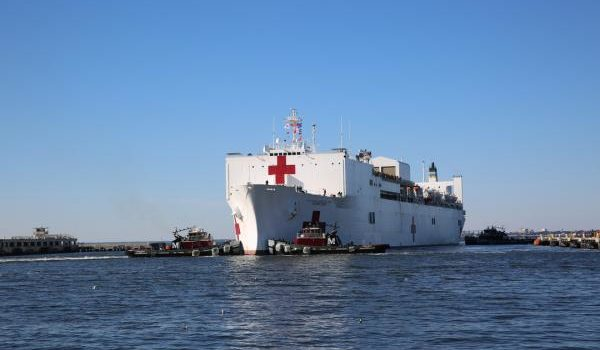 U.S. sending USNS Comfort with hundreds of doctors to help wounded Venezuelans fleeing the country