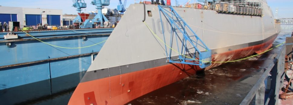Navy to christen final Zumwalt-class destroyer and newest high-speed transport vessel