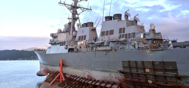 Navy enacts almost all changes recommended after fatal USS Fitzgerald, USS McCain collisions