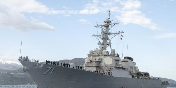 USS Ross heads to the Black Sea as US and allies increase patrols