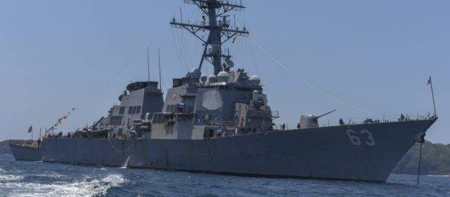 After 14 years at sea, USS Stethem returning home