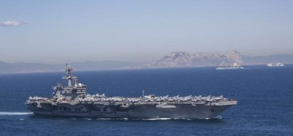 US deploying carrier strike group, bomber task force to Middle East in response to Iranian threats
