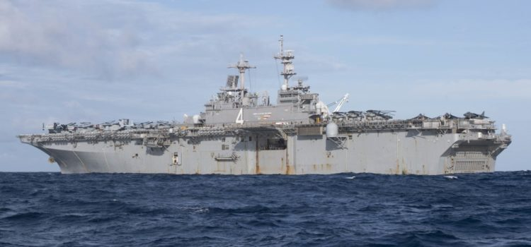 USS Boxer crew says they are ready for everything and anything from Iran