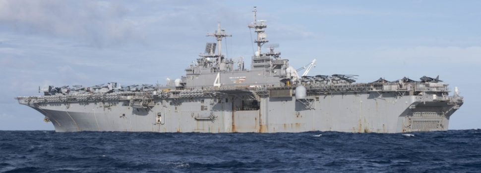USS Boxer arrives in Middle East waters as tension with Iran continues to rise