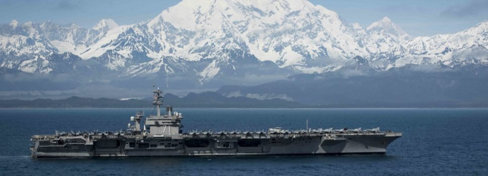 Climate change forcing the Navy north to defend the Arctic ocean