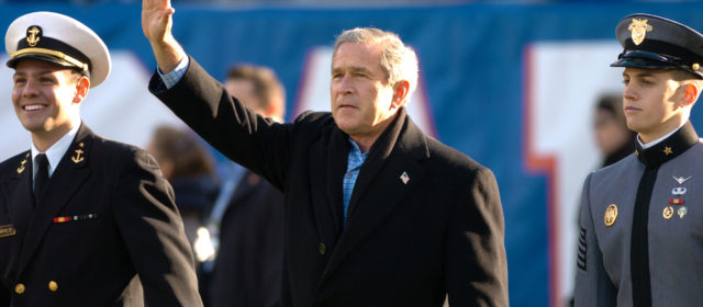 George W. Bush Doesn't Deserve His West Point Character Award