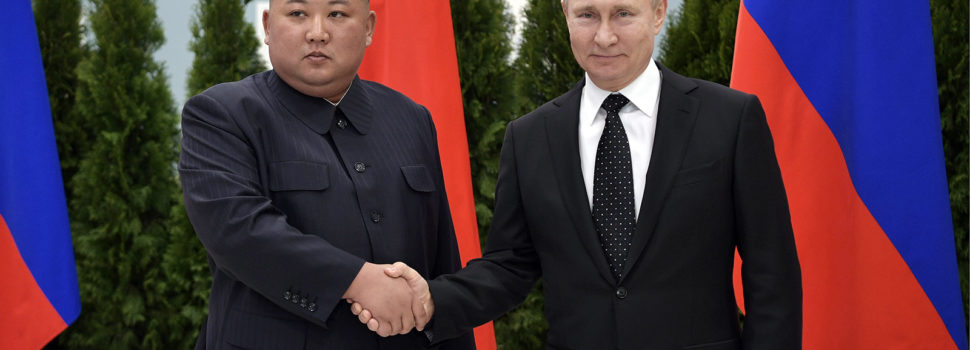 Putin and Kim meet in summit heavy on pleasantries but light on specifics