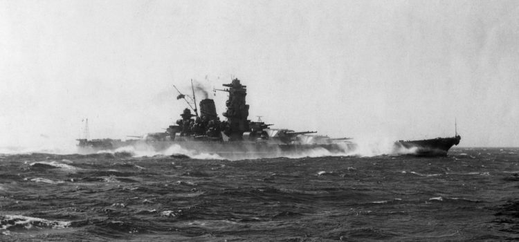 Japan Dreamed of Supercarrier-Size Battleships