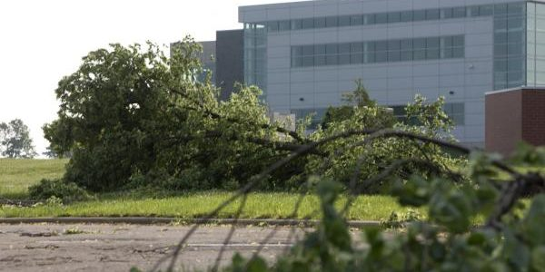 Midwest tornadoes damage military homes at Wright-Patterson AFB, nine families displaced