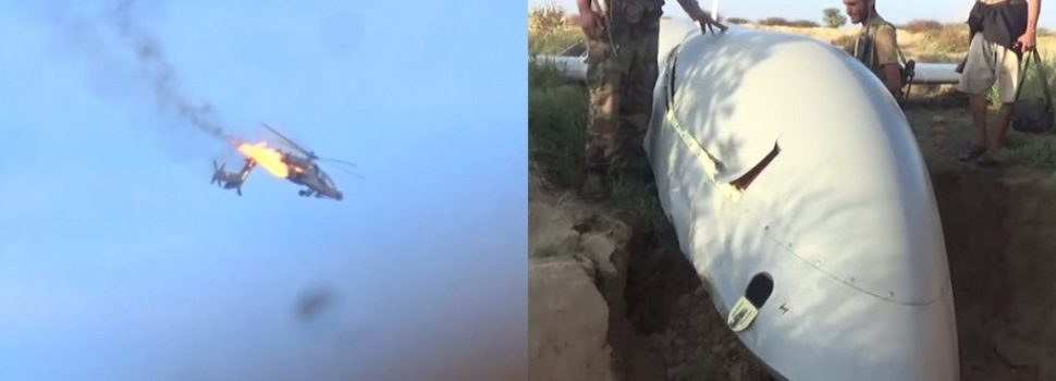 Houthi Rebels claim to have downed an Apache helicopter and a UAV