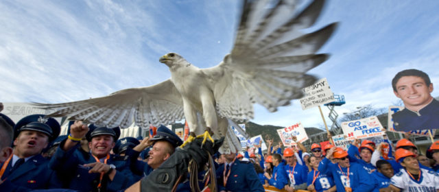 Final Flight: Air Force mascot Aurora passes after 23 years, longest serving mascot in academy history