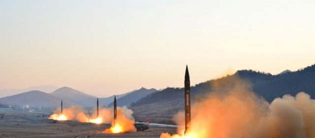 North Korea launches two ballistic missiles towards Japan in response to S. Korea-U.S. military drills