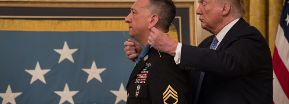 Newest Medal of Honor recipient eliminated 11 threats during 'house of nightmares' mission, saved his unit from massacre