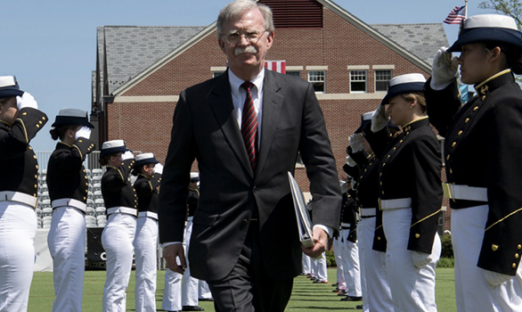 Bolton wants the U.S. to put IRBMs in Asia to protect allies, says it would defend them from China