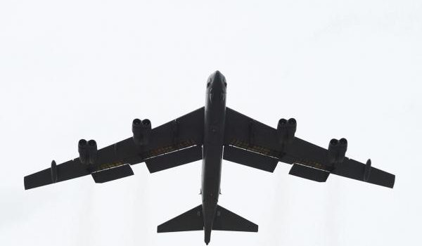 Bomber task force in Middle East completes first mission as tension with Iran increases