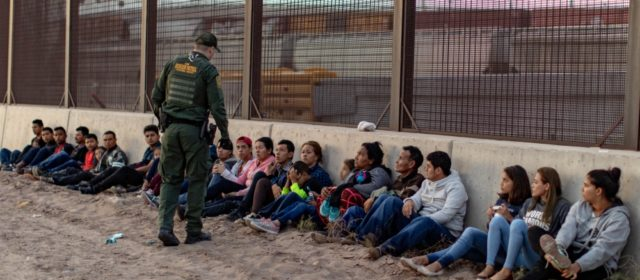 Military has apprehended 100,000 immigrants crossing the border