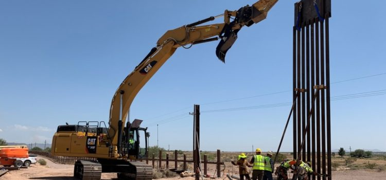 Pentagon has to stop some border wall projects because it's out of money