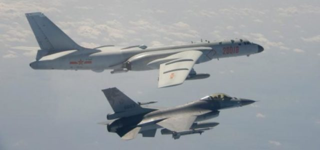Chinese military planes fly past Taiwan for 2nd straight day