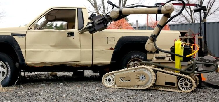 "Army to use new ""Chris H."" robots to disarm, and dispose of bombs"