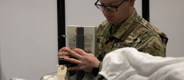 Army wants soldiers to wear a device that can detect if they have coronavirus