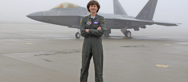 "Decorated ""Captain Marvel"" Air Force pilot removed from DOD job"
