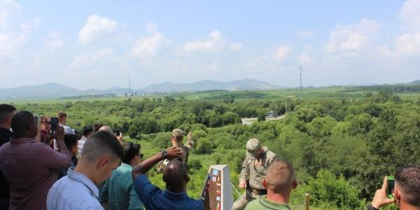 North and South Korea exchange gunfire across DMZ days after Kim Jong Un reappears