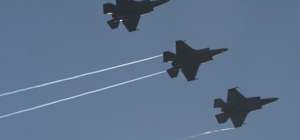 New shipment of F-35s take to the sky at U.S. Air Force base in Germany
