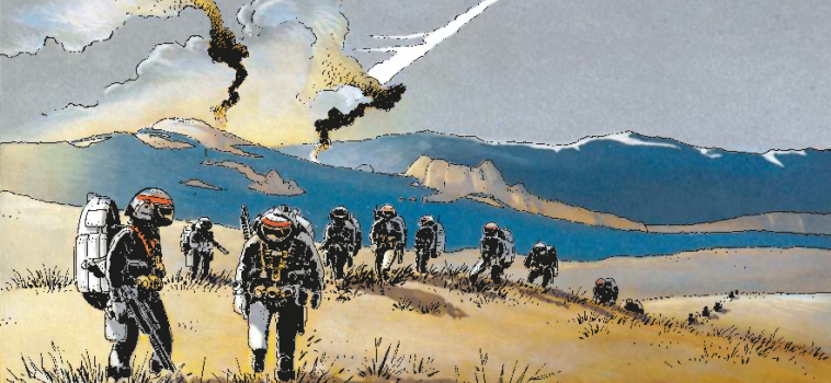 The Sublime Satire That Is The Forever War In Comics War Is Boring