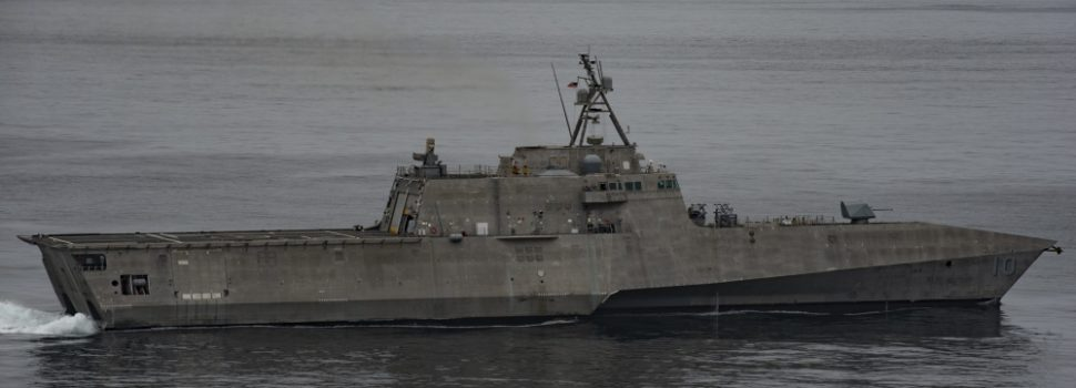 New firepower headed to the Pacific, USS Gabrielle Giffords sets sail for Thailand